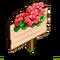 Coral Geranium Mastery Sign-icon