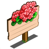Coral Geranium Mastery Sign-icon