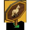 Cremello Stallion Mastery Sign-icon