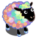 Dreamy Rainbow Sheep-icon