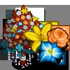Fall Ribbon Flower Tree-icon