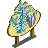 Giant Bare Crystal Tree Mastery Sign-icon