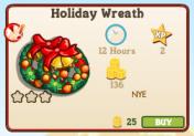 Holiday Wreath Market Info