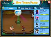 New Year's Party Rewards