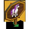 Purple Camellia Unicorn Mastery Sign-icon