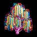 Sweet Stripes Tree-icon