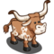 Texas Longhorn Cow-icon