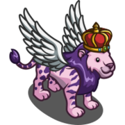 Winged Striped Lion King-icon