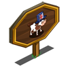 English Cow Mastery Sign-icon