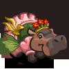 Flower Dancer Hippo-icon
