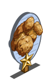 Oatmeal Cookies 1 Star Mastery Sign-icon