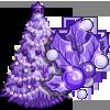 Purple Holiday Tree-icon