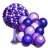 Giant Purple Bubble Gum Tree-icon