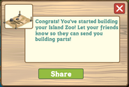 Hawaiian Paradise Zoo Initial Message
