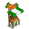 Organic Carrot Stall-icon