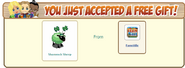 Shamrock Sheep FarmVille Free Gift Accepted
