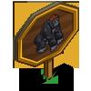 Western Lowland Gorilla Mastery Sign-icon