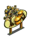 Big Halloween Candle Tree Mastery Sign-icon