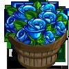 Blue Rose Bushel-icon