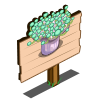 Green Toadstool Mastery Sign-icon