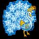 Snowflake Peacock-icon