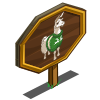 Sweater Llama Mastery Sign-icon