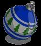 Winter blue ornament-icon