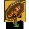 Woodland Fox Mastery Sign-icon