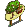 Big Chocolate Apple Tree Mastery Sign-icon