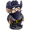 Black Top Bandit Gnome-icon