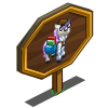 Bookseller Unicorn Foal Mastery Sign-icon