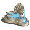 Deco Peacock Fountain-icon