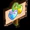 Flaxen Strawberry Mastery Sign-icon