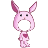 Pink Rabbit Costume-icon