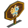 Blue Frosted Pegacorn Foal Mastery Sign-icon