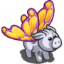 Majestic Butterfly Pig-icon