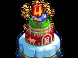 4th Birthday Party Cake
