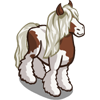 Dapple Gypsy Horse-icon