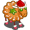 Holiday Cookie Sheep-icon