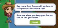 Let's Go Horseback Riding Quest Notification