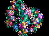 Rainbow Rose Tree