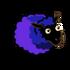 Ultramarine Bluish Violet Ewe-icon