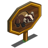 American Badger Mastery Sign-icon