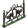 Black Cat Fence-icon