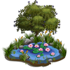 Water Lilies Pond-icon