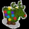 Reindeer topiary-icon