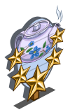 Rosehip Tea 5 Star Mastery Sign-icon