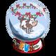 Winter Cow Snow Globe-icon