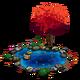 Autumn Tree Pond-icon