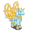 Blue Frosted Pegacorn-icon